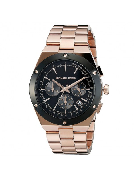 Michael Kors Unisex MK6208 Reagan Chronograph Rose Gold Watch