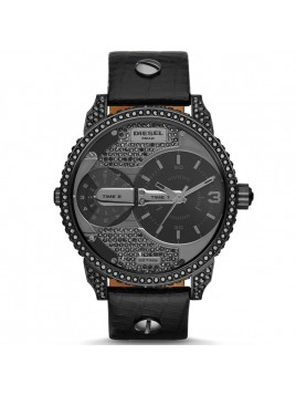 Diesel Men's DZ7328 Mini Daddy Analog Display Black Stone Watch
