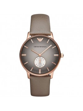 Emporio Armani Classic Mens Rose Gold Watch Model-AR1723