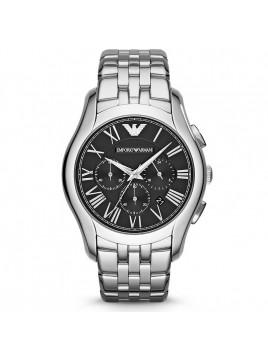 Emporio Armani Men's Classic Chronograph Display Analog Quartz Silver Watch AR1786