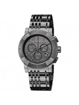 Burberry Trench Gun Metal Chronograph Mens Watch Model BU2305