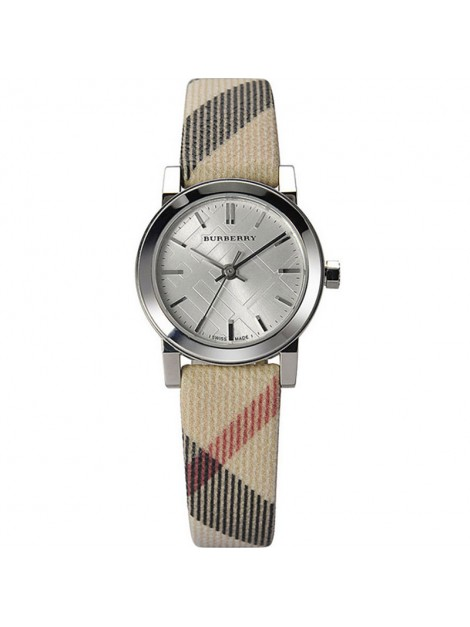 Burberry Luxury Women's Brown Nova Check Strap Watch BU9212