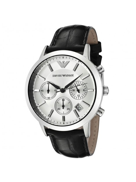 Emporio Armani Classic Chronograph Stainless Steel Men's Watch AR2432