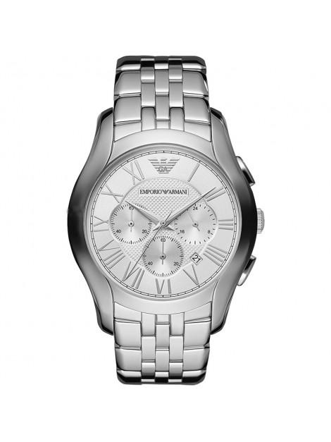 Emporio Armani Classic Chronograph Black Dial Steel Men's Watch AR1702